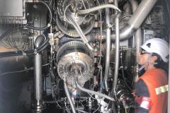 Vista de la Turbina Rolls-Royce 4